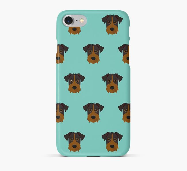 Phone Case with Patterdale Icons