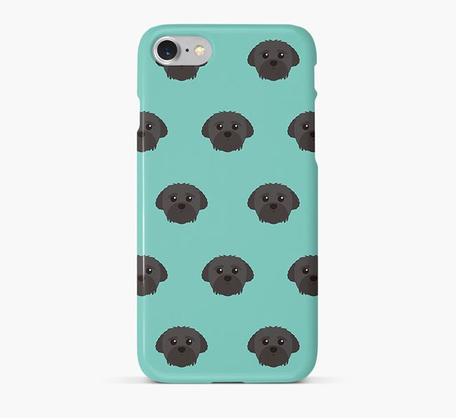 Phone Case with Peek-a-poo Icons