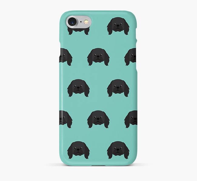 Phone Case with Pekingese Icons