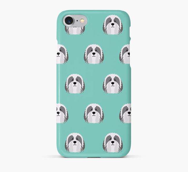 Phone Case with Polish Lowland Icons