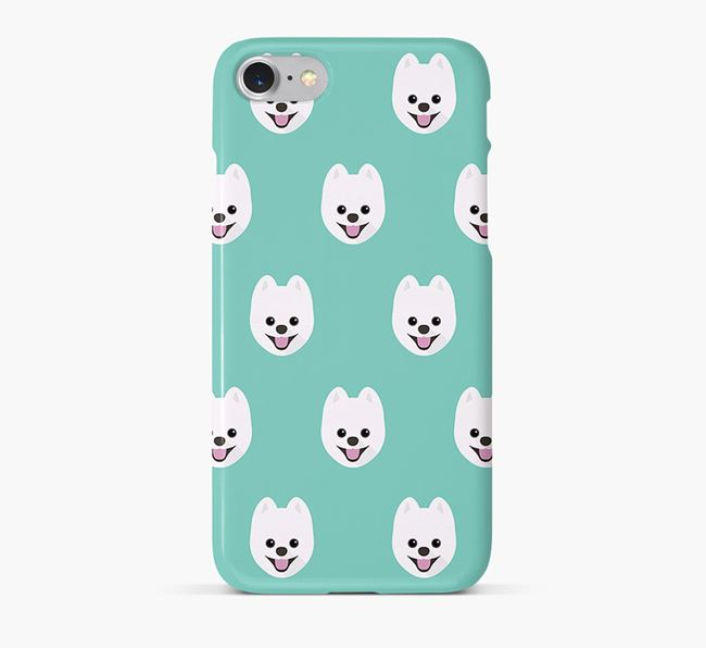 Phone Case with Pomsky Icons