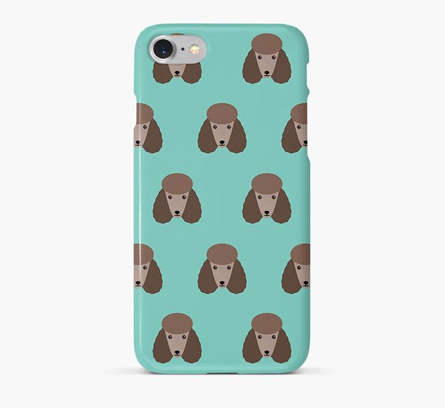 Phone Case with Poodle Icons
