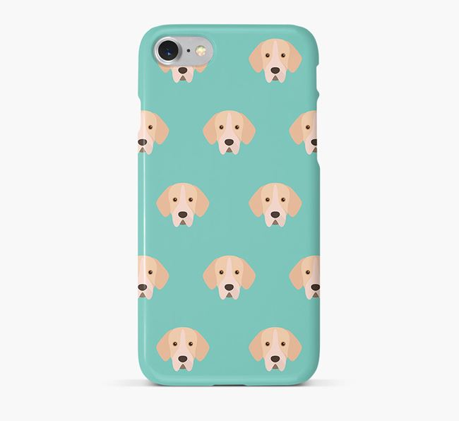 Phone Case with Portuguese Pointer Icons