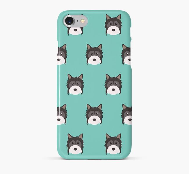 Phone Case with Powderpuff Icons