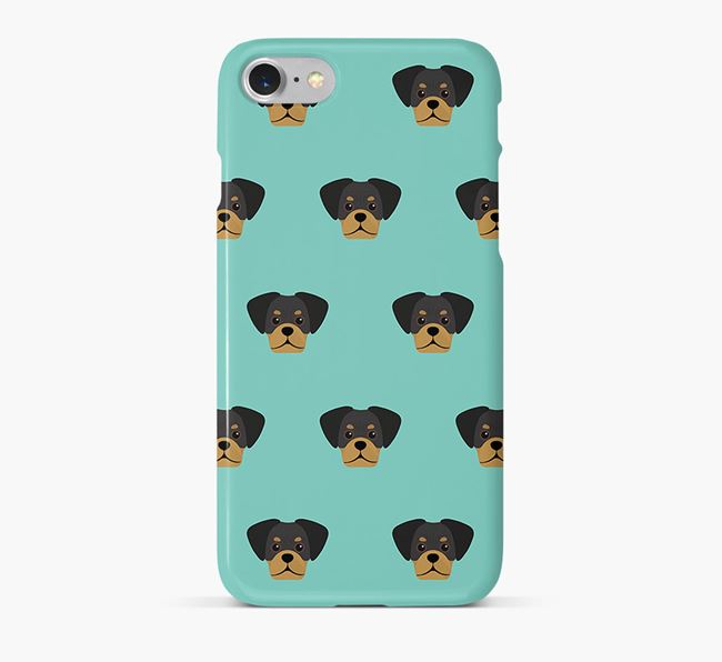 Phone Case with Pugalier Icons