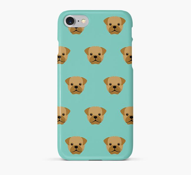 Phone Case with Pugapoo Icons