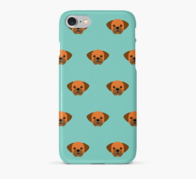 Phone Case with Puggle Icons