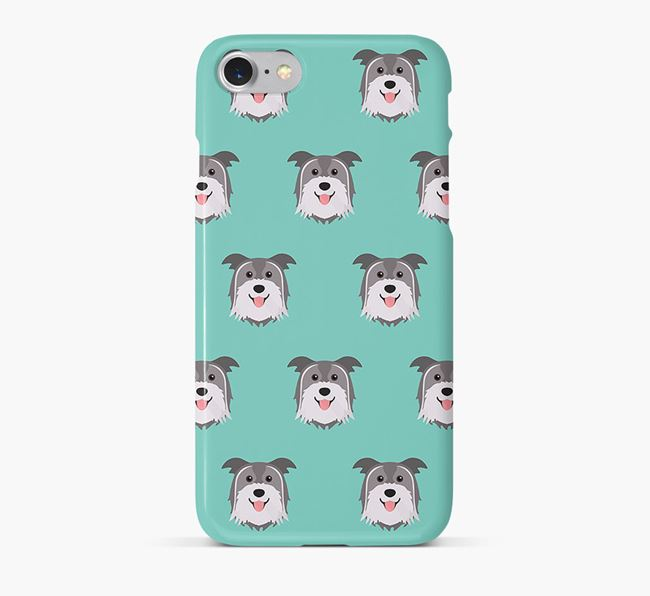 Phone Case with Pyrenean Shepherd Icons