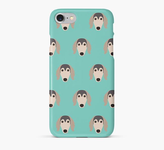 Phone Case with Saluki Icons