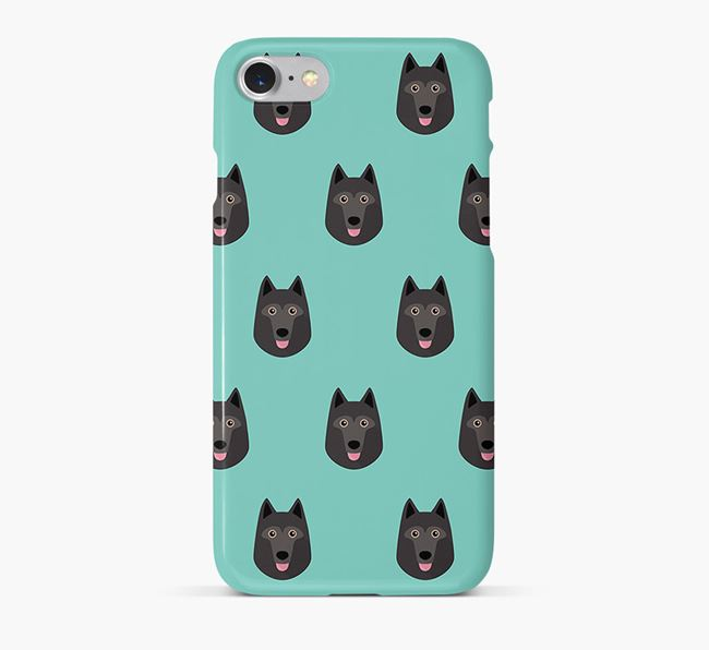 Phone Case with Schipperke Icons