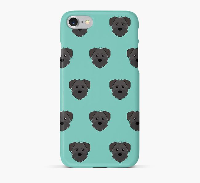 Phone Case with Schnoodle Icons
