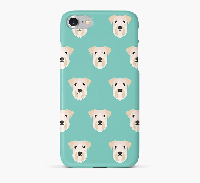 Phone Case with Sealyham Terrier Icons