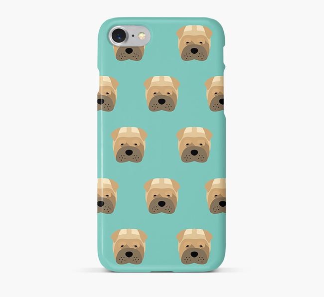 Phone Case with Dog Icons