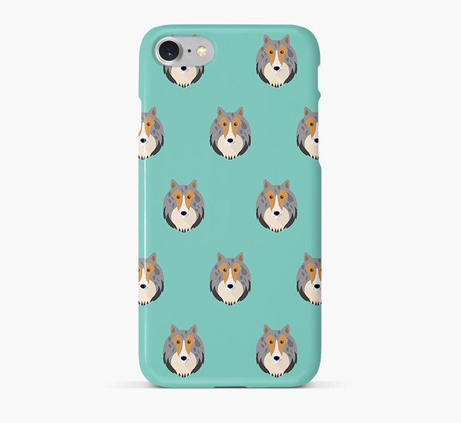 Phone Case with Sheltie Icons