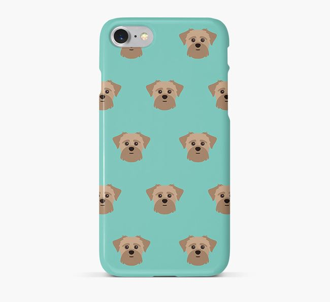 Phone Case with Shorkie Icons