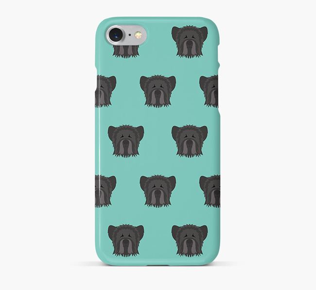 Phone Case with Skye Terrier Icons