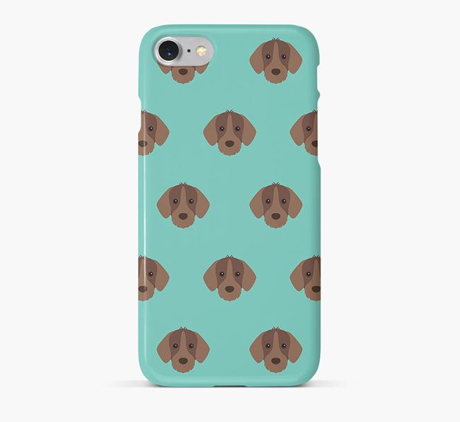 Phone Case with Slovakian Pointer Icons