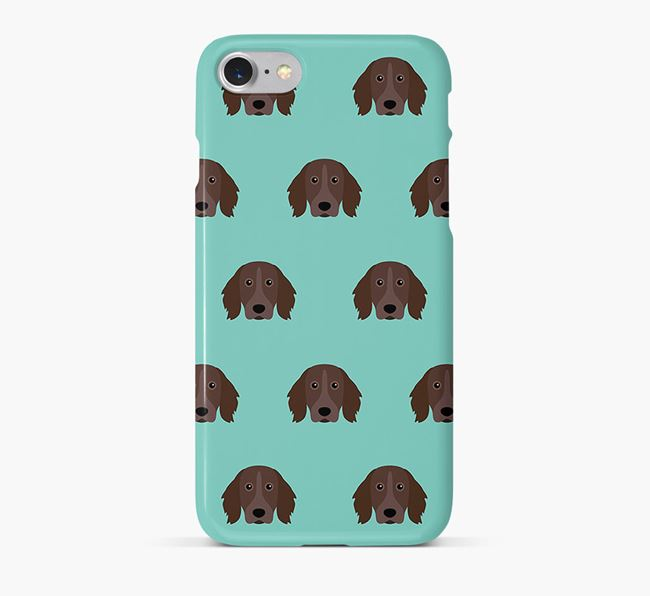 Phone Case with Munsterlander Icons