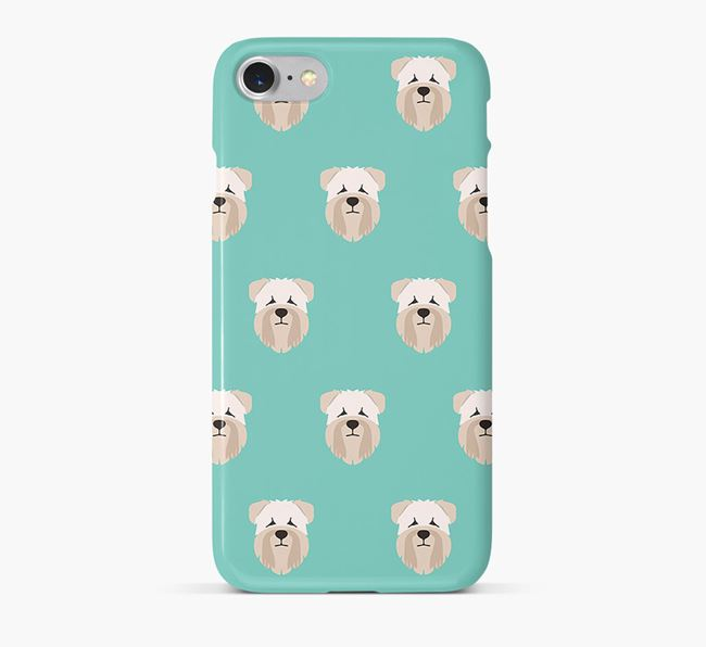 Phone Case with Wheaten Terrier Icons