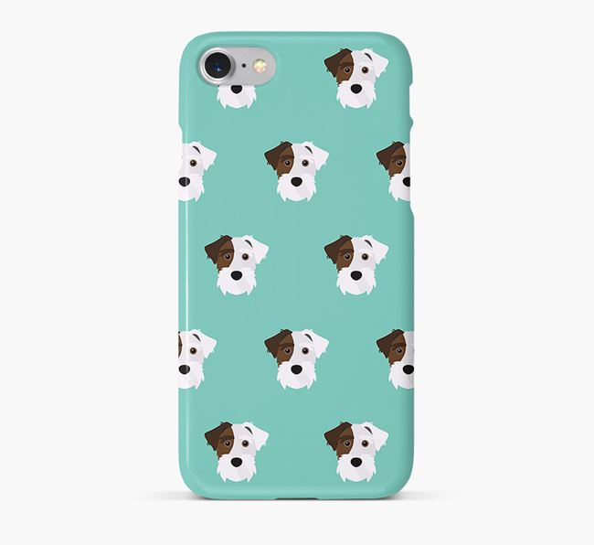 Phone Case with Lucas Terrier Icons