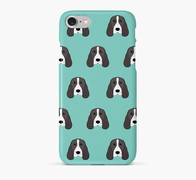 Phone Case with Springer Spaniel Icons