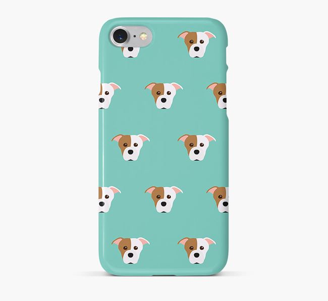 Phone Case with Staffie Icons
