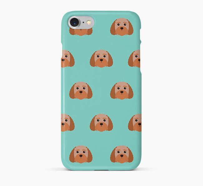 Phone Case with Terri-Poo Icons