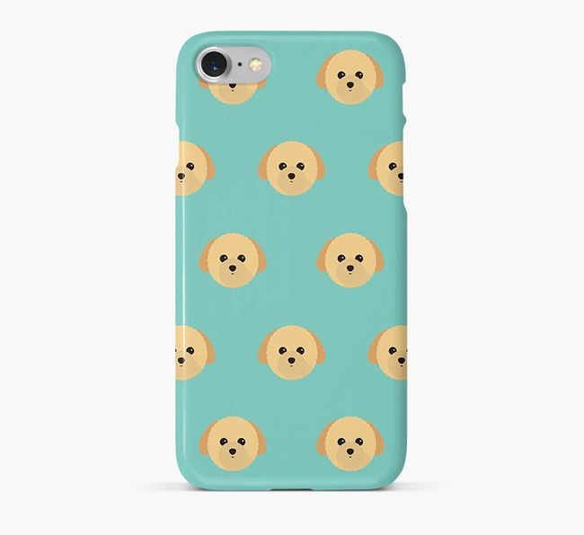Phone Case with Toy Poodle Icons