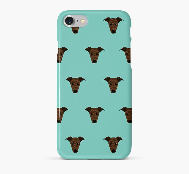 Phone Case with Whippet Icons