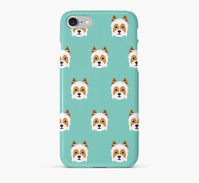 Phone Case with Yorkie Russell Icons