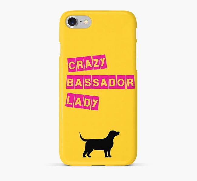 Phone Case 'Crazy Bassador Lady