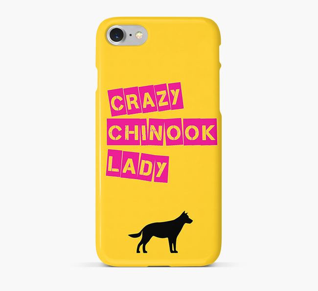 Phone Case 'Crazy Chinook Lady
