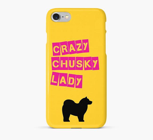 Phone Case 'Crazy Chusky Lady