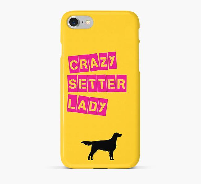 Phone Case 'Crazy English Setter Lady