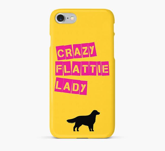 Phone Case 'Crazy Flatcoat Lady