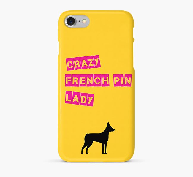 Phone Case 'Crazy French Pin Lady