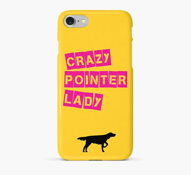 Phone Case 'Crazy Longhaired Pointer Lady