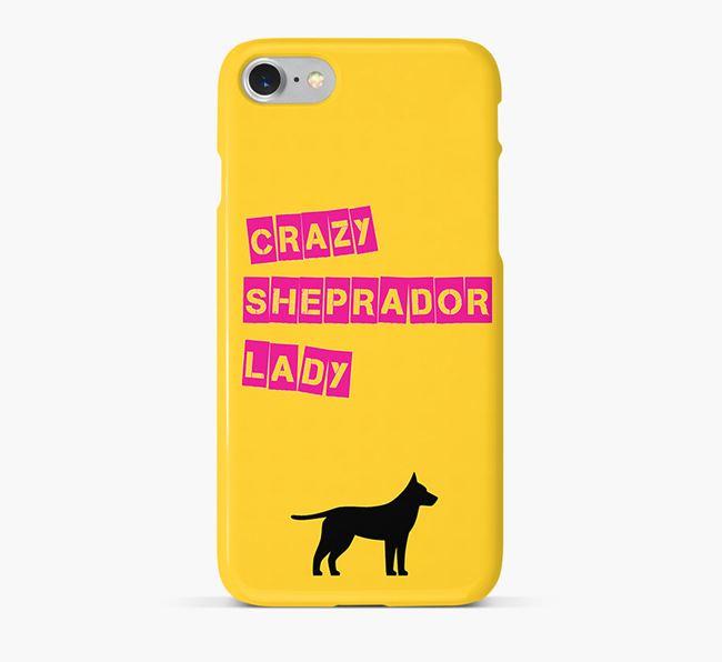 Phone Case 'Crazy German Sheprador Lady
