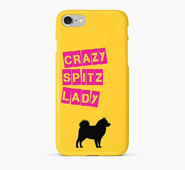 Phone Case 'Crazy German Spitz Lady