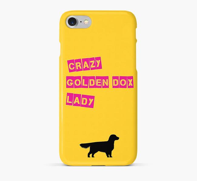 Phone Case 'Crazy Golden Dox Lady