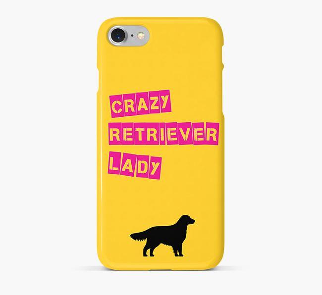 Phone Case 'Crazy Golden Retriever Lady