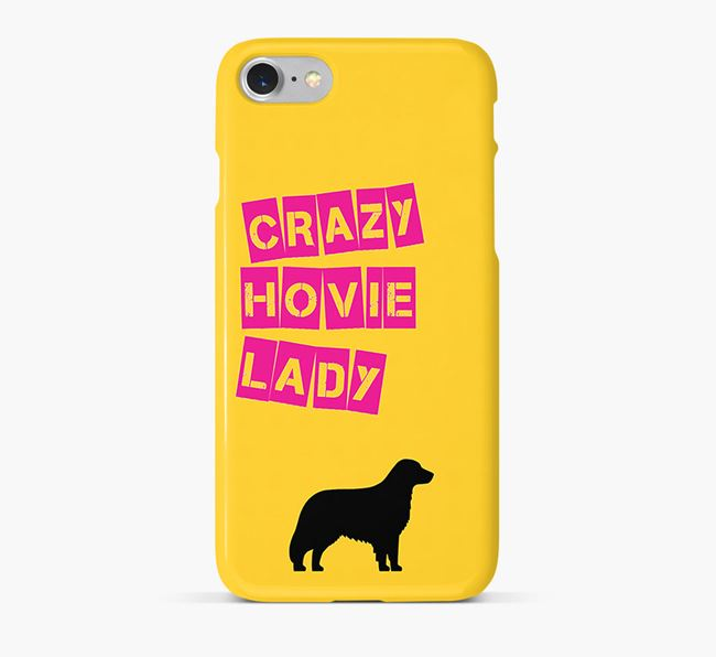 Phone Case 'Crazy Hovawart Lady