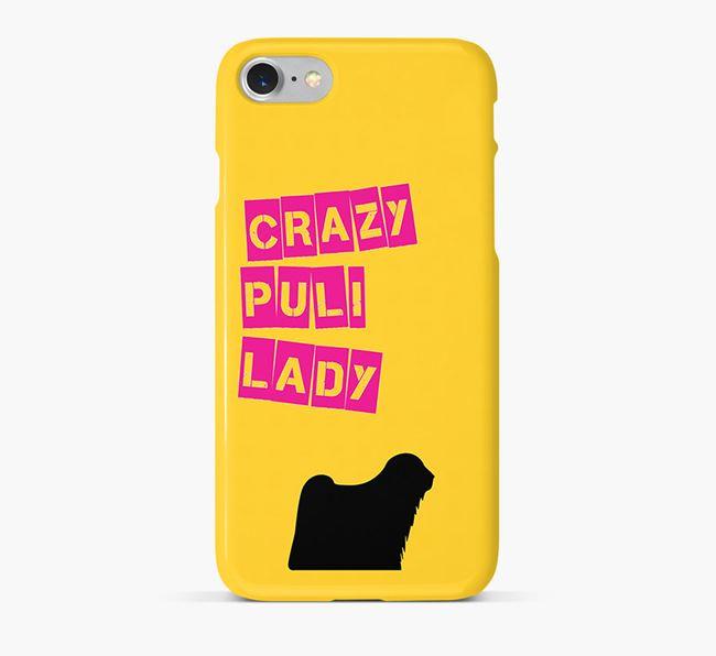 Phone Case 'Crazy Puli Lady