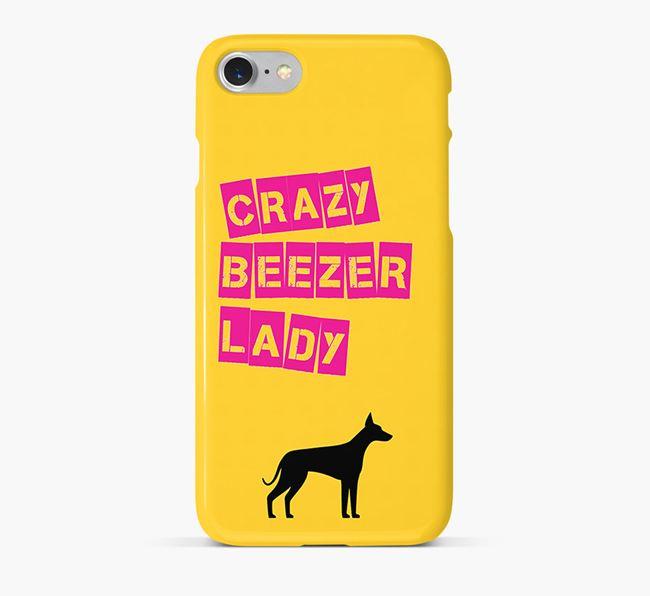 Phone Case 'Crazy Ibizan Hound Lady