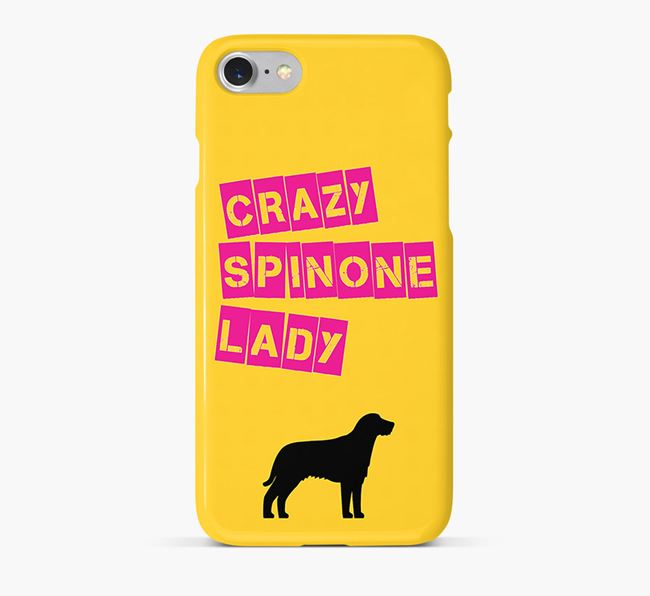 Phone Case 'Crazy Italian Spinone Lady