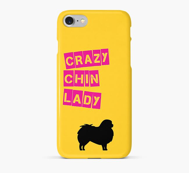Phone Case 'Crazy Japanese Chin Lady