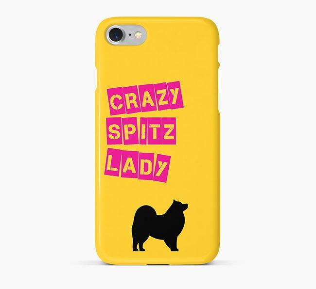 Phone Case 'Crazy Japanese Spitz Lady