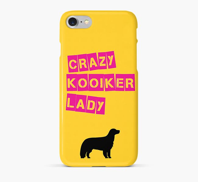 Phone Case 'Crazy Kooiker Lady