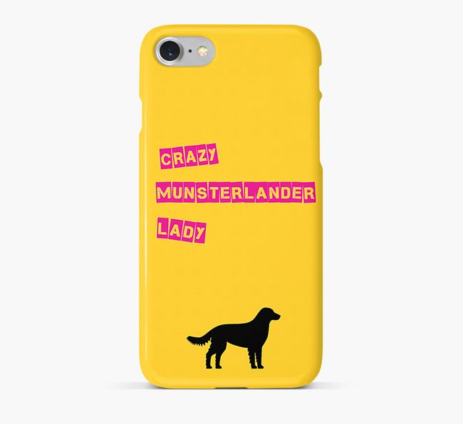 Phone Case 'Crazy Munsterlander Lady