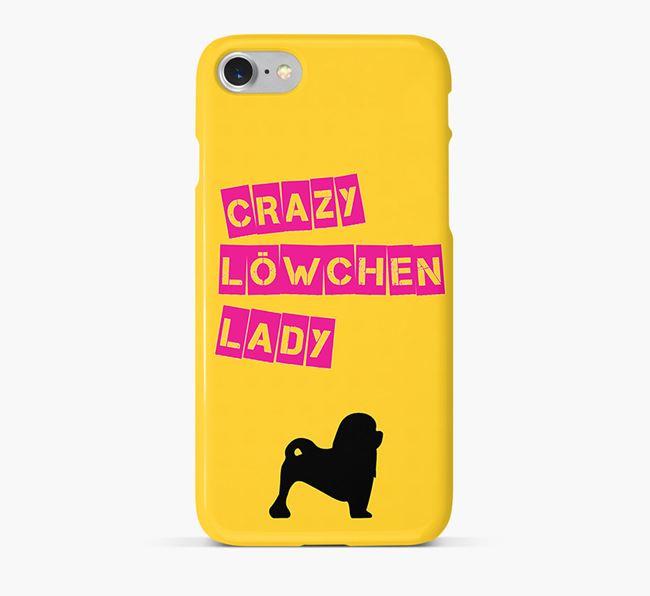 Phone Case 'Crazy Löwchen Lady